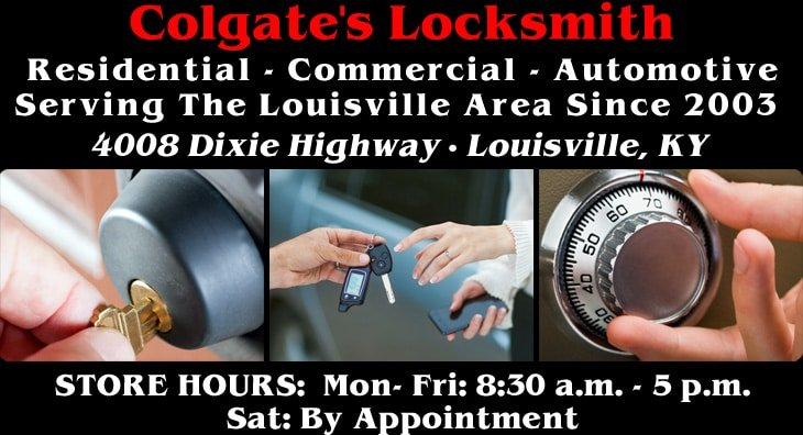 Contact Colgate Locksmith - Louisville KY